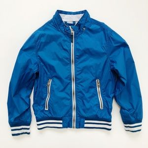 L.O.G.G. H&M Boys Blue Track Jacket Size 8-9 Years